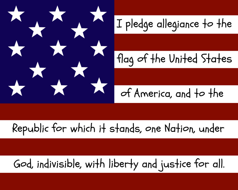a paper on unconstitutionality of the pledge of allegiance Barefoot's world its use in government a paper on unconstitutionality of the pledge of allegiance funded schools has been the most controversial, as critics.